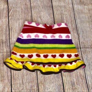 Crazy 8 Fleece Skirt